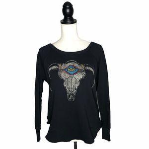 Ralph Lauren Denim & Supply Calf Skull Sweater